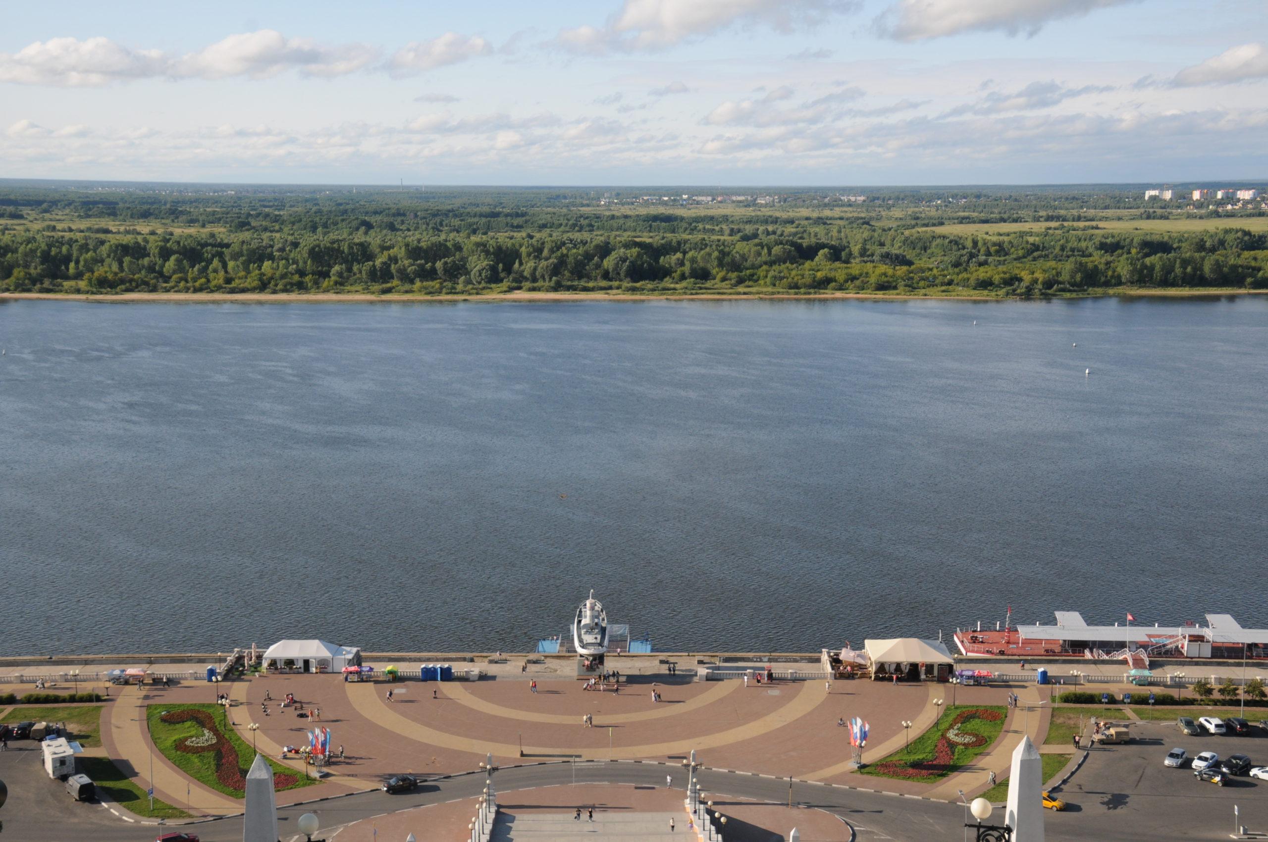 Kranzniederlegung Nischni Novgorod